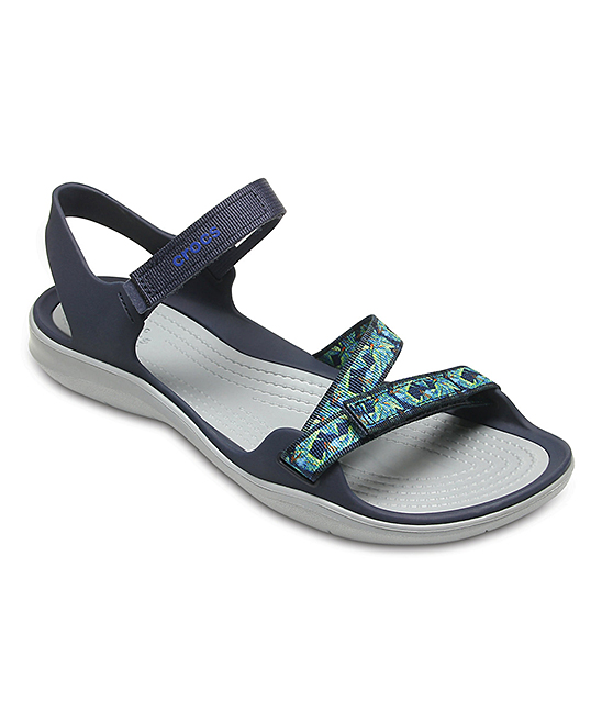 7aa60a0440680 Crocs Navy Swiftwater Webbing Sandal - Women