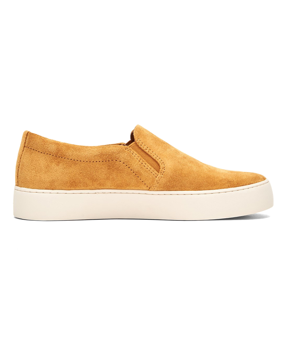 d52ef7291f love this product Yellow Lena Leather Platform Slip-On Sneaker - Women