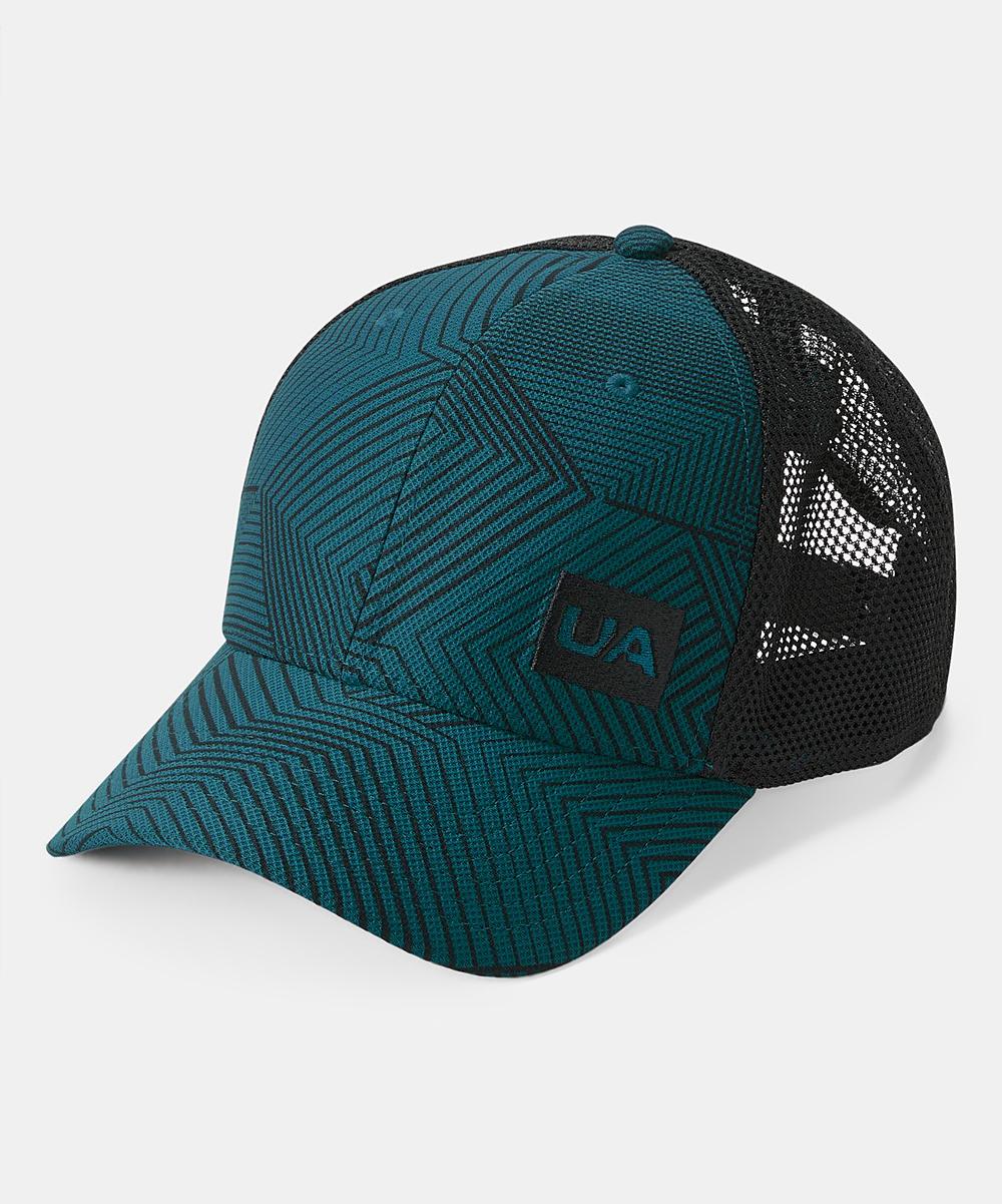 f8f41c5cf Under Armour® Techno Teal Blitzing Trucker 3.0 Trucker Hat