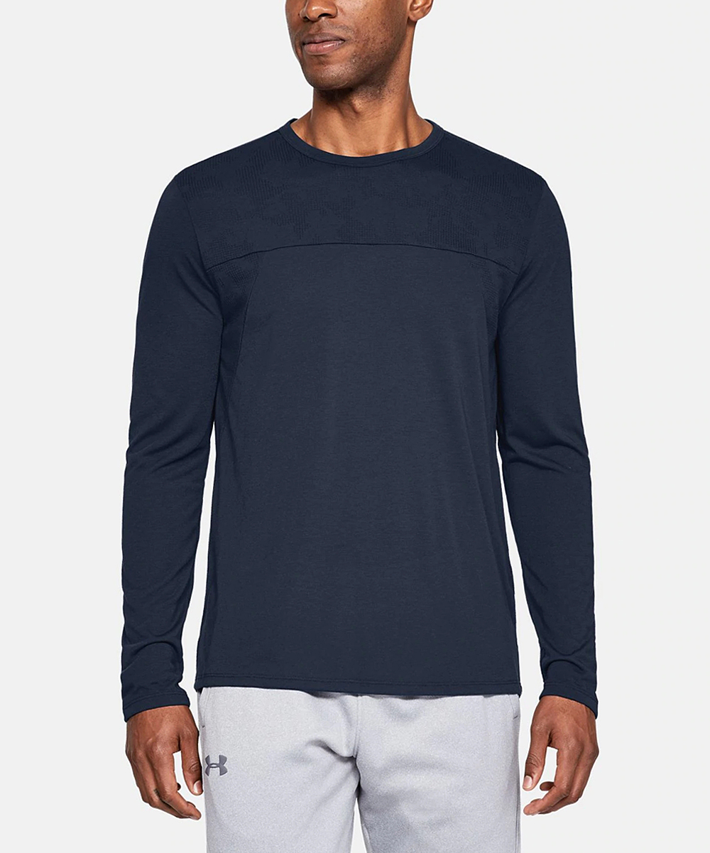 Under Armour Men's Tee Shirts ACADEMY - Academy Siro Elite Long-Sleeve Tee - Men