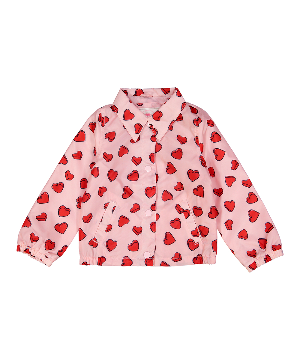 Heart Fashion Jacket - Infant, Toddler & Girls Heart Fashion Jacket - Infant, Toddler & Girls. Your little one will be prepped and ready for for the elements with this sweet jacket that keeps the season's chill at bay.  Lined100% polyesterMachine wash; tumble dryImported
