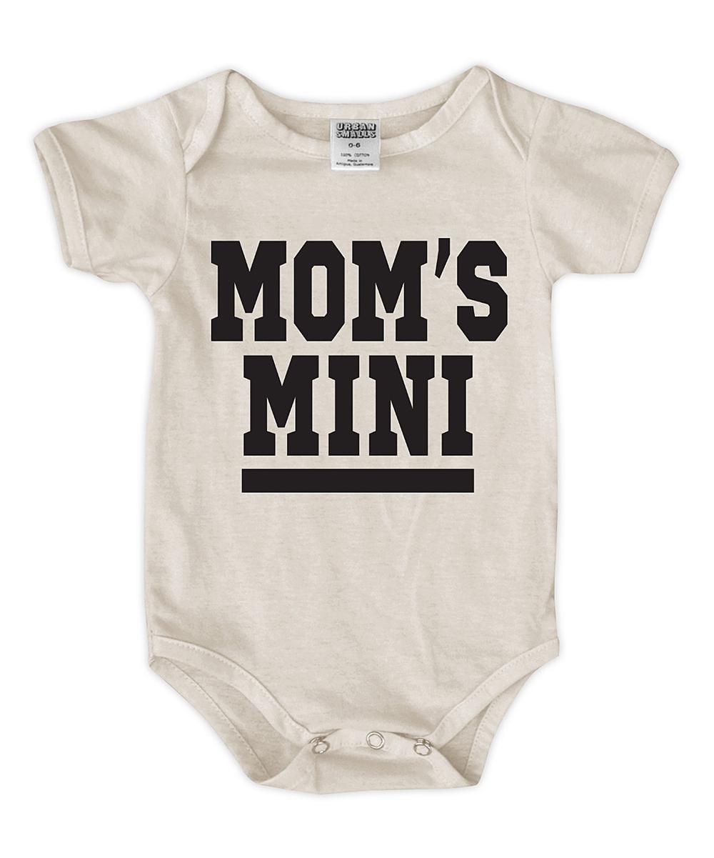 Cream 'Mom's Mini' Bodysuit - Newborn & Infant