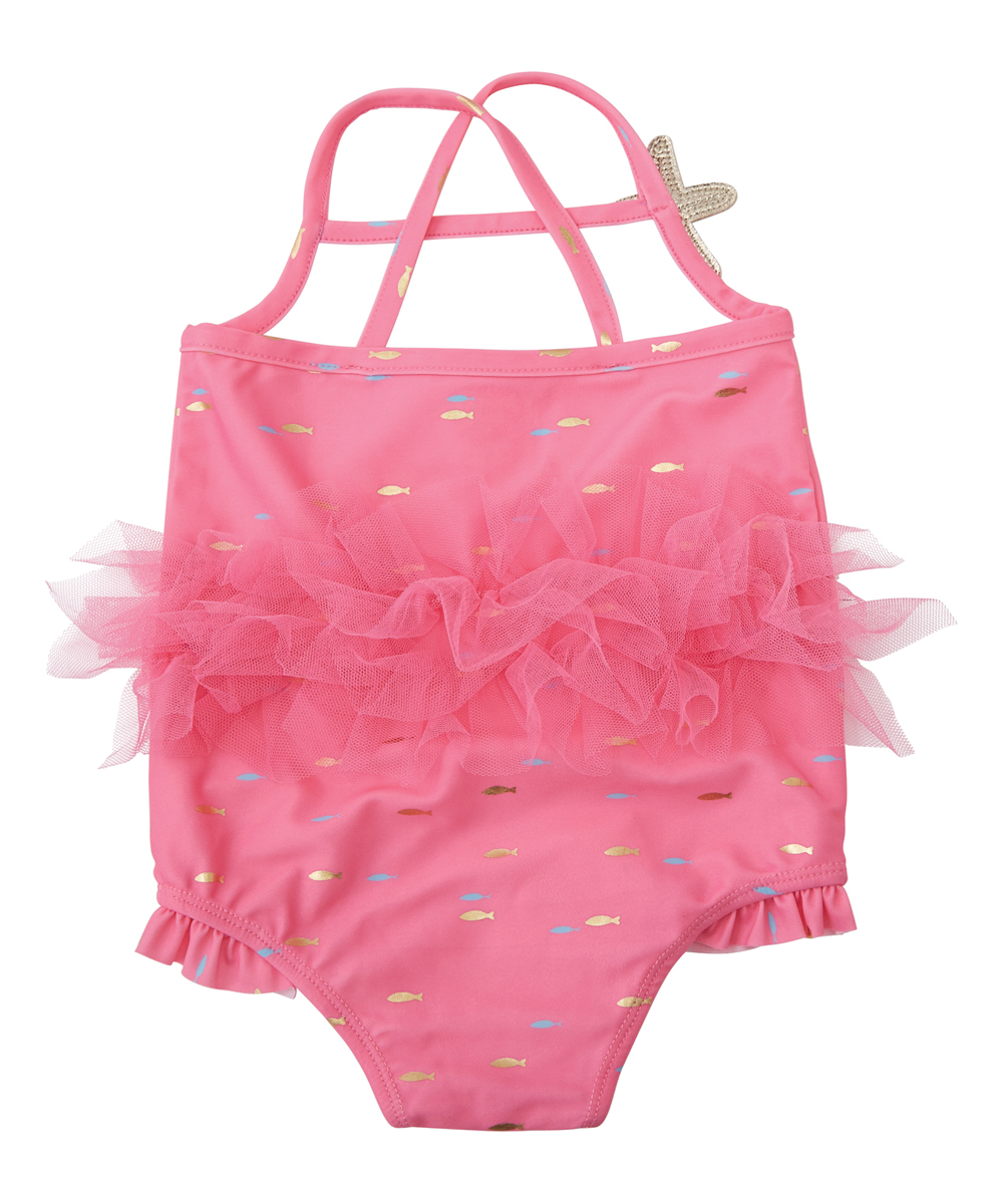 5d6d179a396ef love this product Pink Mermaid One-Piece - Toddler