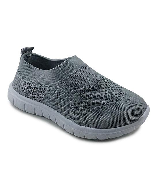 Ositos Shoes  Sneakers GREY - Gray Slip-On Sneaker - Kids