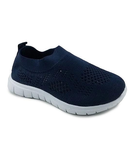 Ositos Shoes  Sneakers NAVY - Navy Solid Slip-On Sneaker - Kids