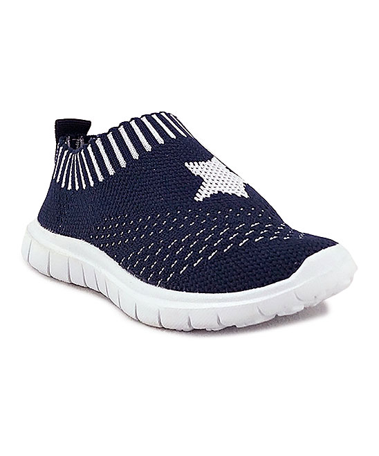 Ositos Shoes  Sneakers NAVY - Navy Star Slip-On Sneaker - Kids