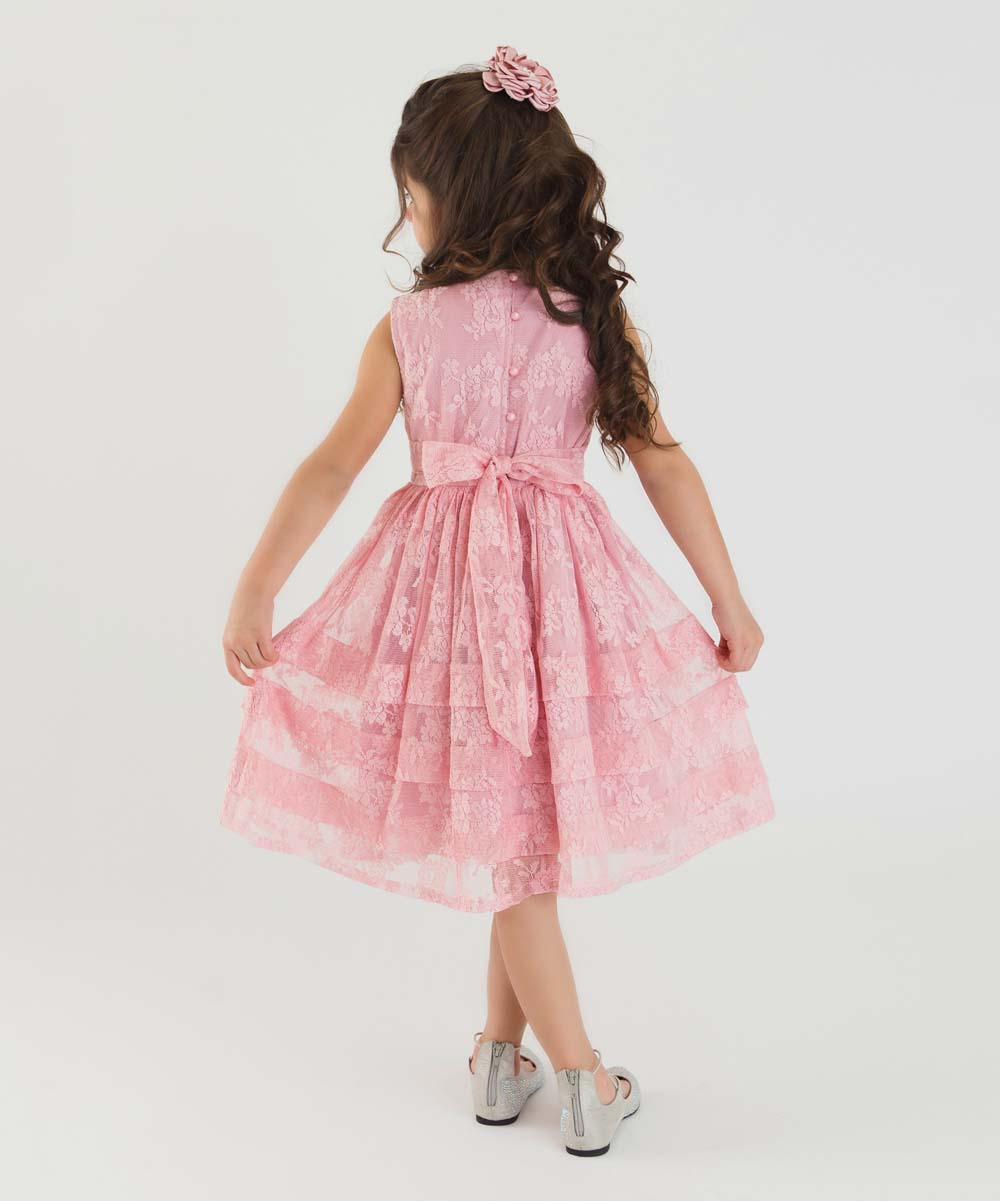 957845a81 Think Pink Bows Dusty Rose Mikayla Dress - Infant, Toddler & Girls ...