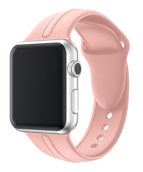 Waloo  Replacement Bands Pink - Pink Sport Band For Apple Watch for Apple Watch Series 1/2/3/4