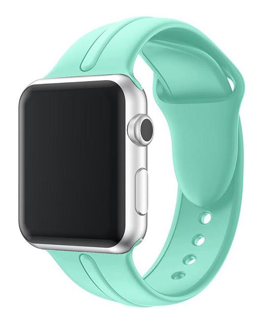 Waloo  Replacement Bands Aqua - Aqua Sport Band for Apple Watch 1/2/3/4