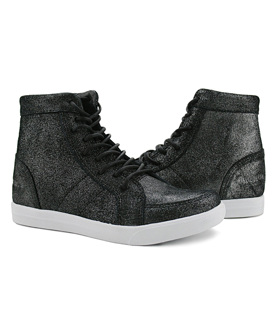 d36afcea835 Burnetie Silver Peculiar Leather Wedge Sneaker - Women