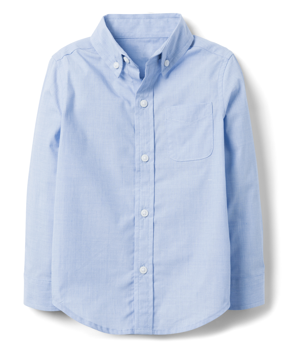 41b3160f9 Janie & Jack Light Blue Button-Up - Infant   Zulily