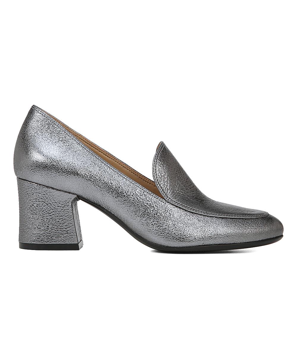 ea02d409358 ... Womens PEWTER SPARKLEMETLTHR Pewter Sparkle Dany Heeled Loafer -  Alternate Image 2 ...