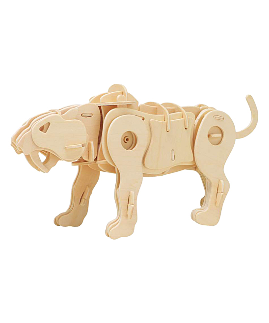 ROKR  Remote Control Toys  - Sound Control Saber-Tooth Tiger Robotic Toy Kit