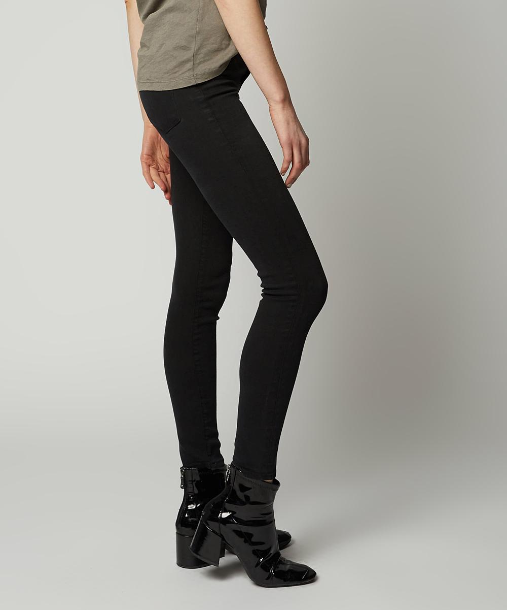 81d06756566ff EMG Denim Black Driftin Blues Hailey Cropped Skinny Jeans | Zulily