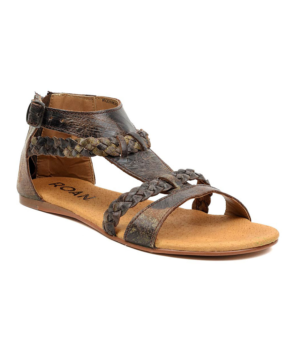 c995aa5a227d 22 viewing. Dark Road Posey Leather Sandal ...