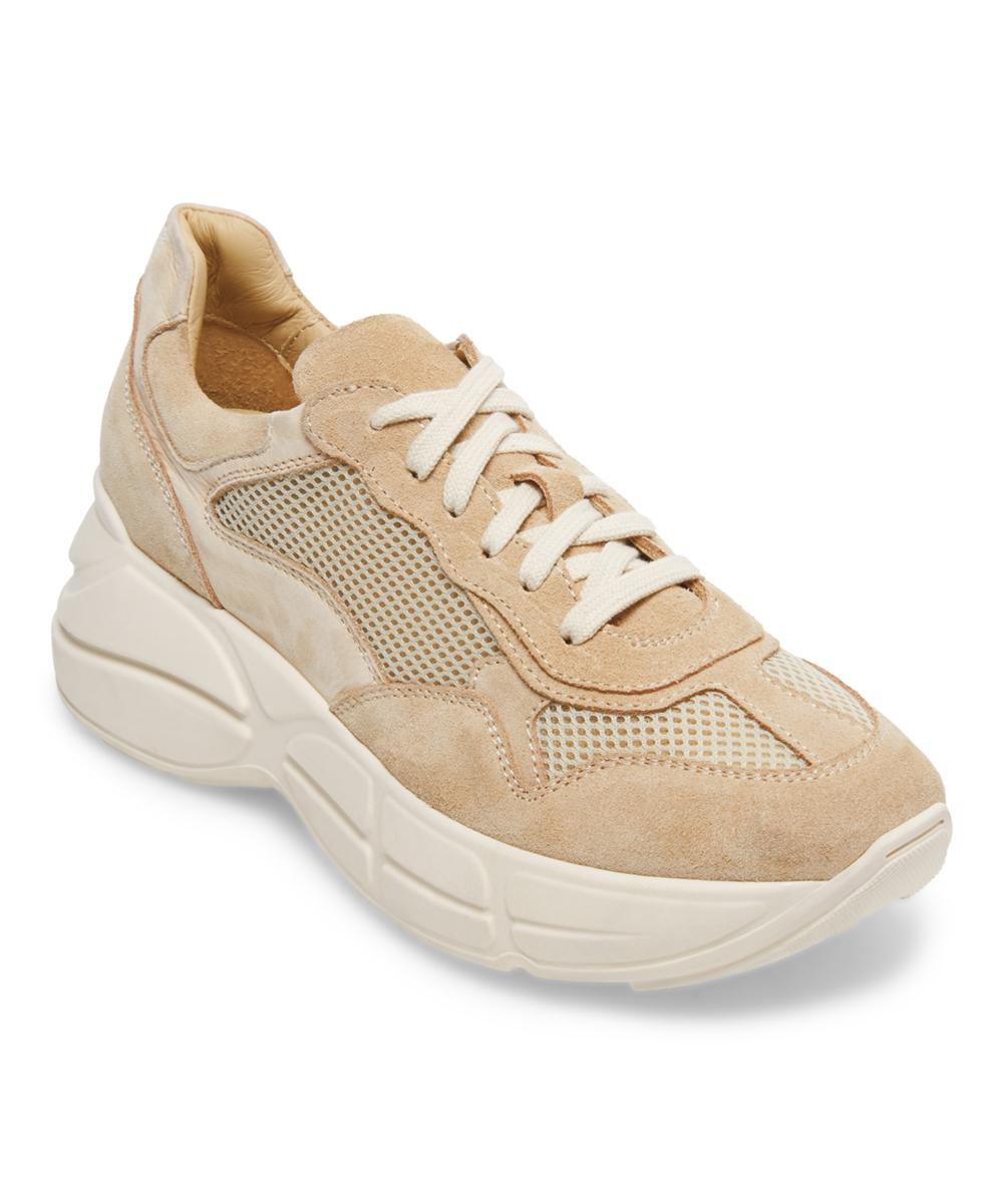 755cc04888f Steve Madden Beige Memory Leather Sneaker - Women