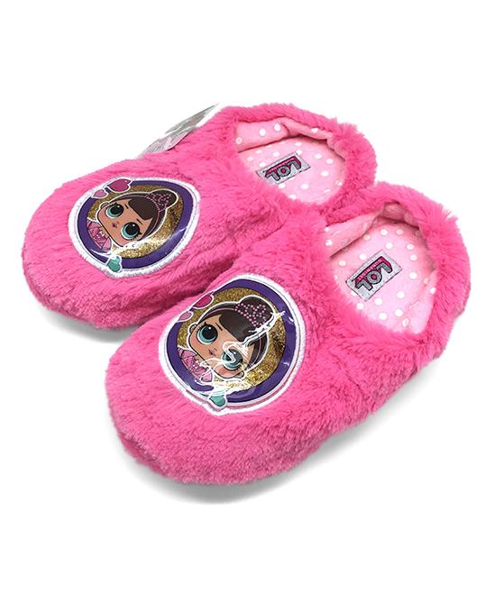 Wonderland Toys  Clogs  - L.O.L. Surprise! Fuchsia Plush Slipper - Kids