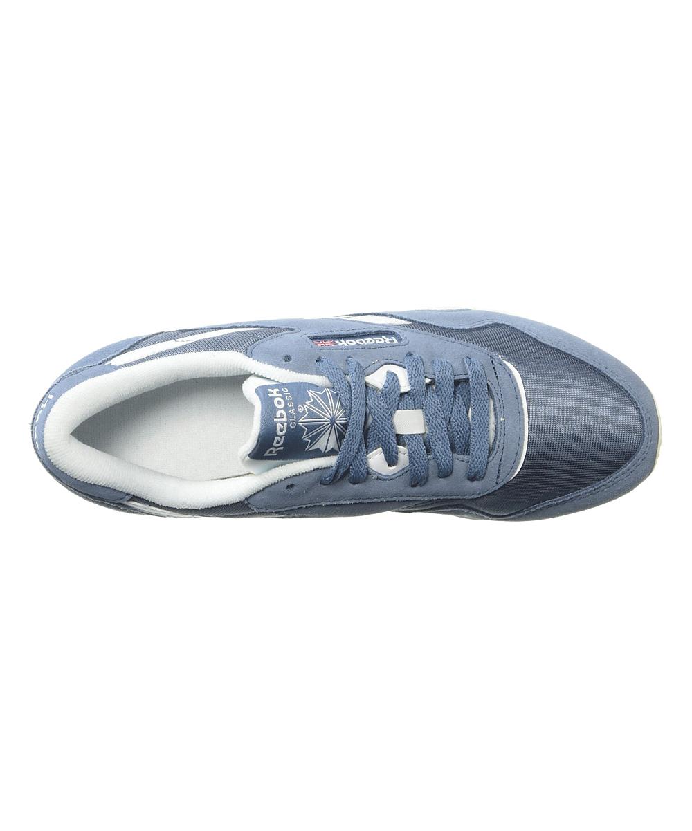 e81ff1e109ba ... Womens MUTEDBERRIES-BLUE SLATE WHITE CHALK Blue Slate   White Classic  Nylon Sneaker ...