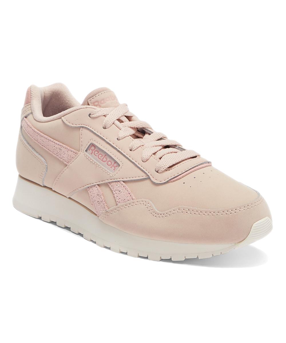 0cd38fa472 Reebok Bare Beige & Chalk Pink Classic Harmon Running Shoe - Women