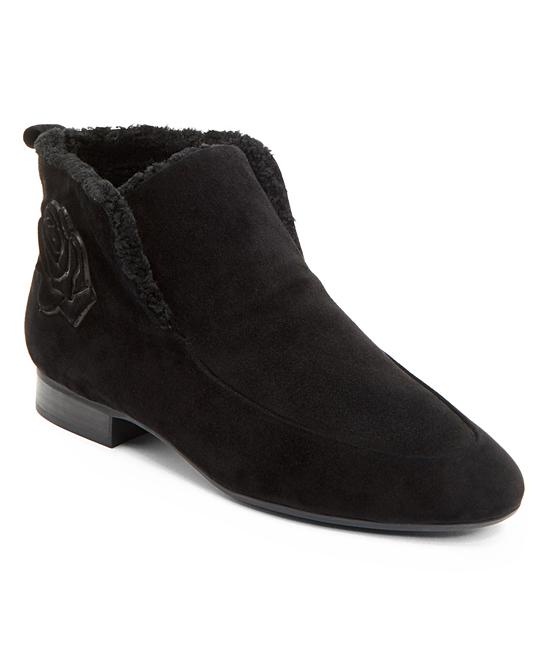 3996b716f0b Taryn Rose Black Brielle Ankle Boot - Women