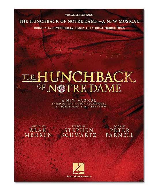 The Hunchback of Notre Dame Vocal Selections Paperback Songbook