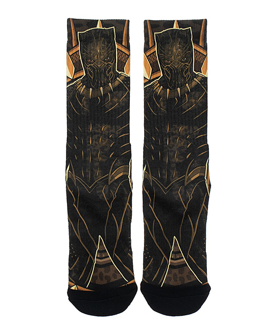 Killmonger Socks - Men Killmonger Socks - Men.  Show your love for everyone's favorite multi-verse with these Killmonger themed socks.Imported