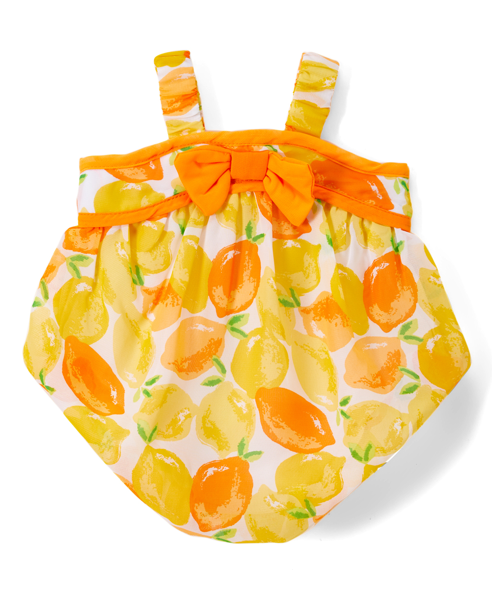 Orange Citrus Bubble Bodysuit - Infant