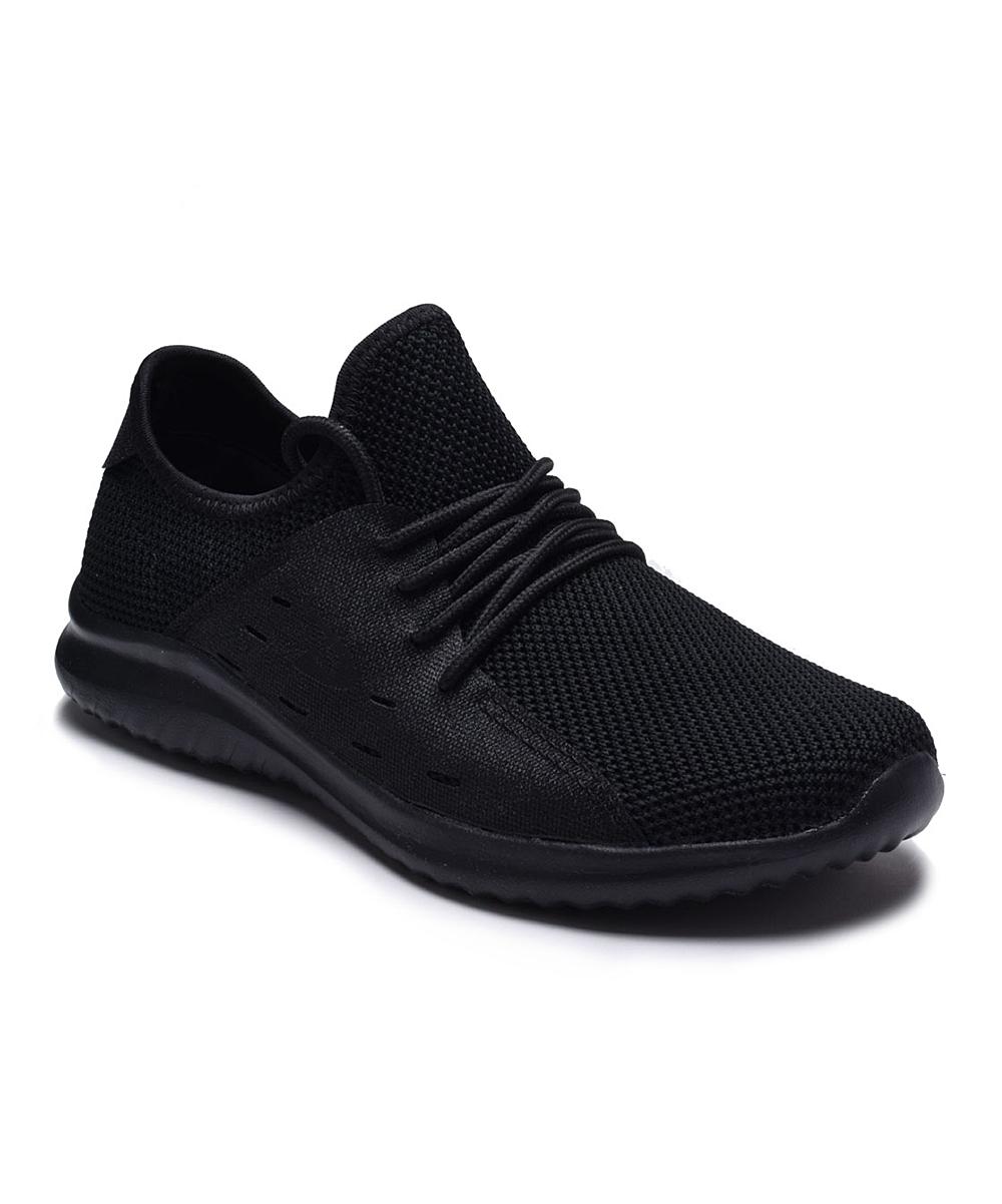 Dream Seek Black Crisscross Slip-On Sneaker - Women  13f33a9002