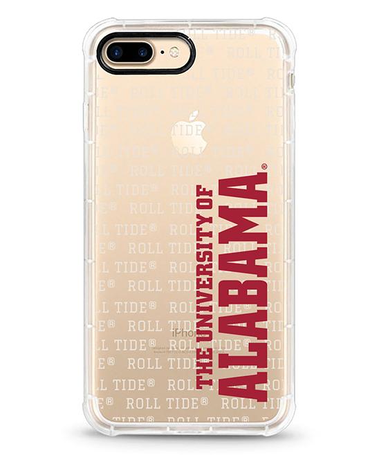 Alabama Crimson Tide Red & White iPhone Case