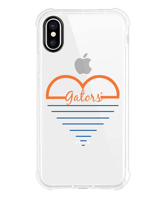 Florida Gators White Heart iPhone Case