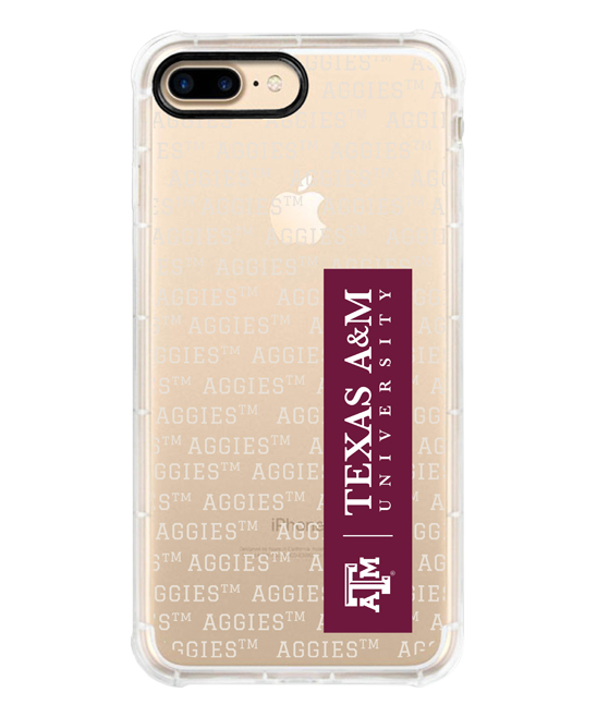 Texas A&M Aggies Red & White iPhone Case