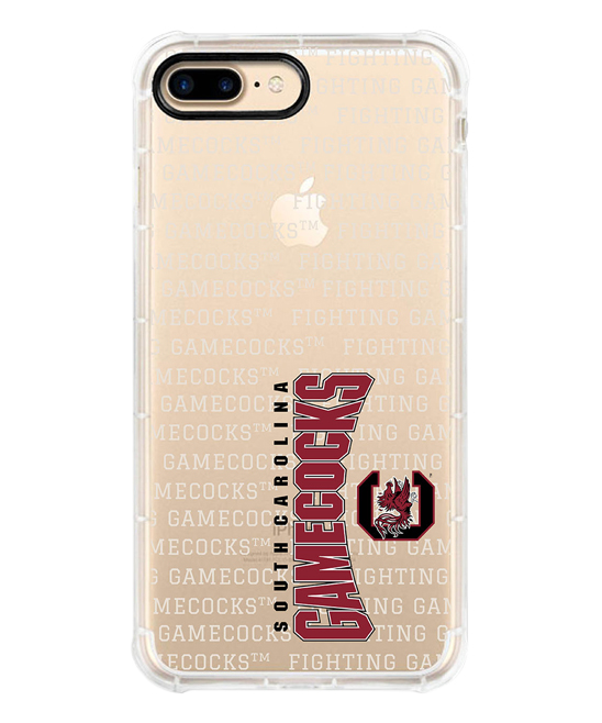 South Carolina Gamecocks Red & White iPhone Case