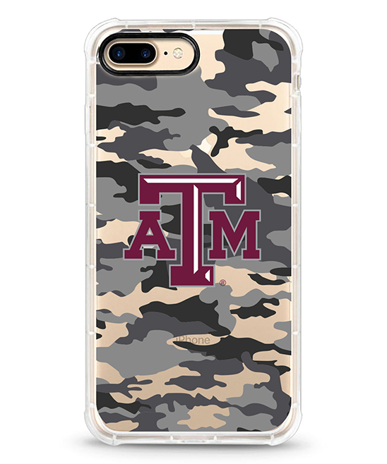 Texas A&M Aggies Bray & Beige Camo iPhone Case