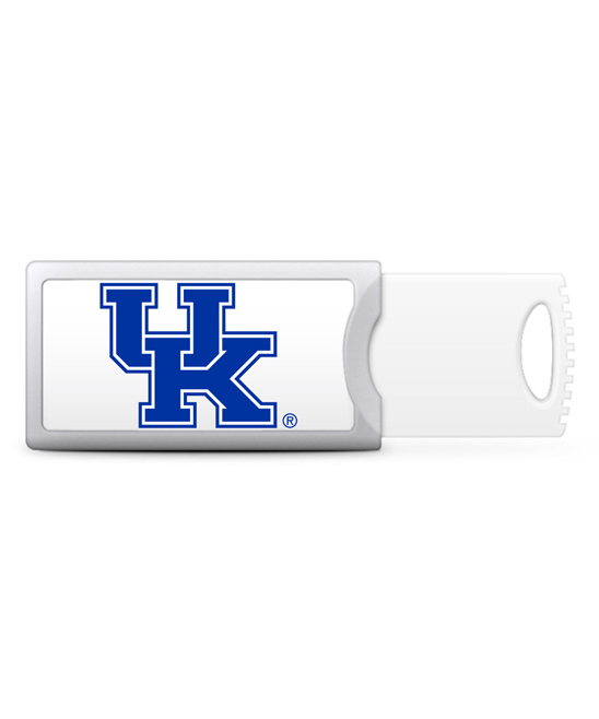 Kentucky Wildcats 16 GB V2 Push USB Drive