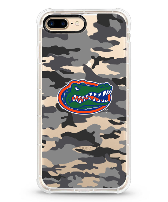 Florida Gators Camo Rugged Edge Case for iPhone 7/8 Plus