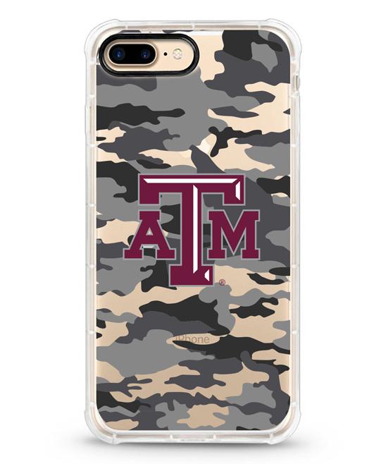 Texas A&M Aggies Camo Rugged Edge Case for iPhone 7/8 Plus