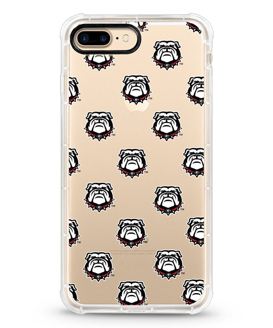 Georgia Bulldogs Mascot Rugged Edge Case for iPhone 7/8 Plus