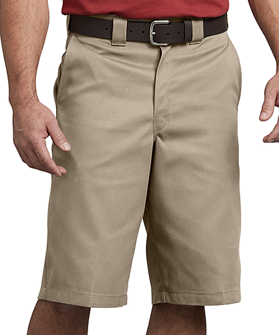 Desert Sand Flex Multi-Pocket Work Shorts - Men Desert Sand Flex Multi-Pocket Work Shorts - Men. Smarten his work-ready style with these flexible shorts that boast enough pockets to keep him hands-free. 65% polyester / 35% cottonMachine wash; tumble dryImported