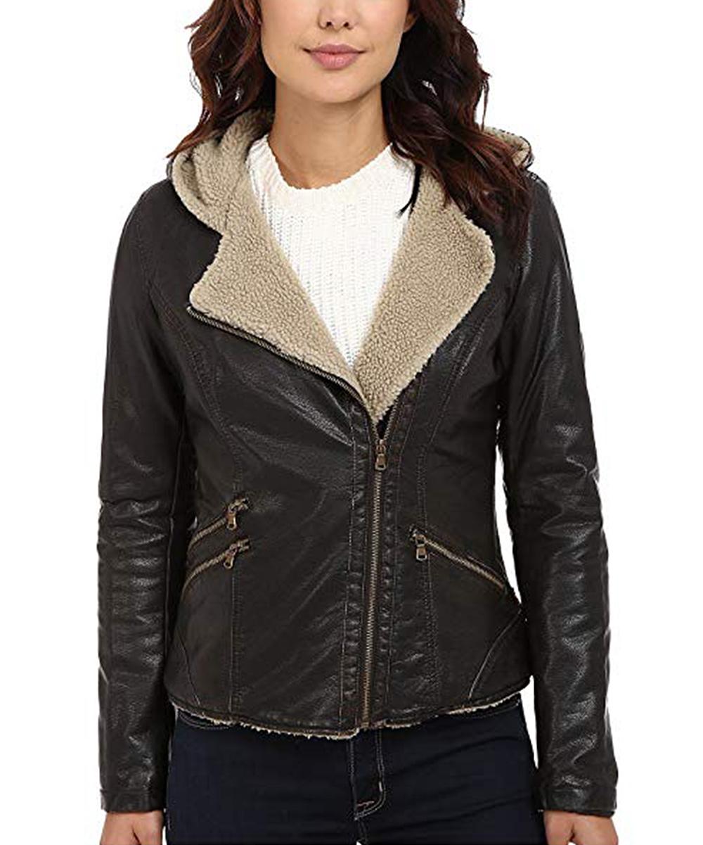 2c181f45e Levi's Dark Brown Asymmetrical Jacket - Women