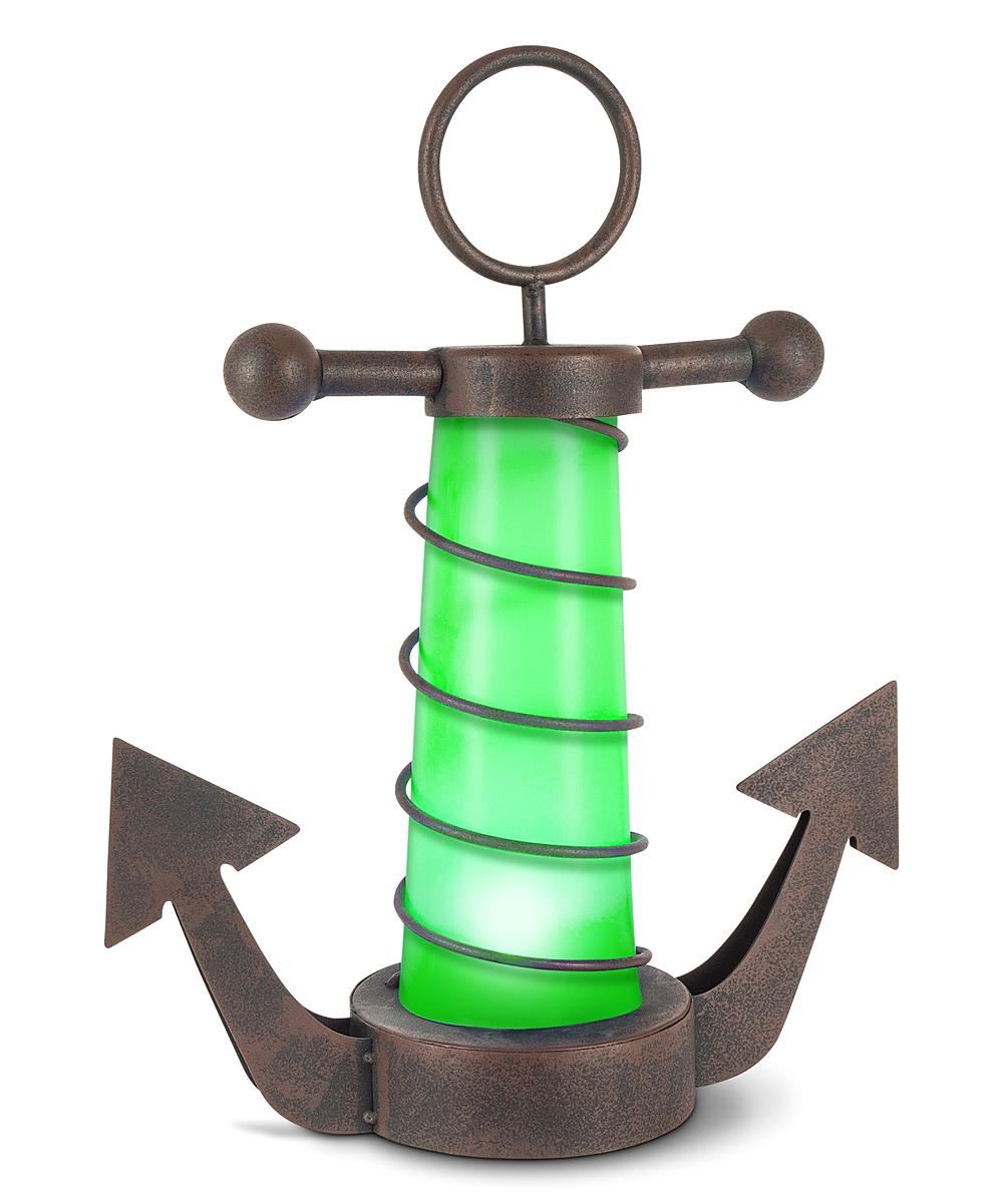 Garden Meadow  Solar Lighting  - Green Anchor Solar Outdoor Decor