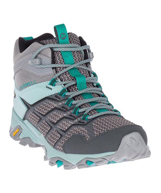 fdf12014447 Merrell Frost & Aquifer Moab FST 2 Mid Waterproof Hiking Boot - Women