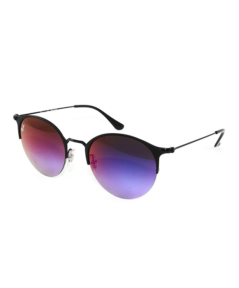 0c697ab049 Ray-Ban Light Gray Gradient Round Sunglasses - Adult