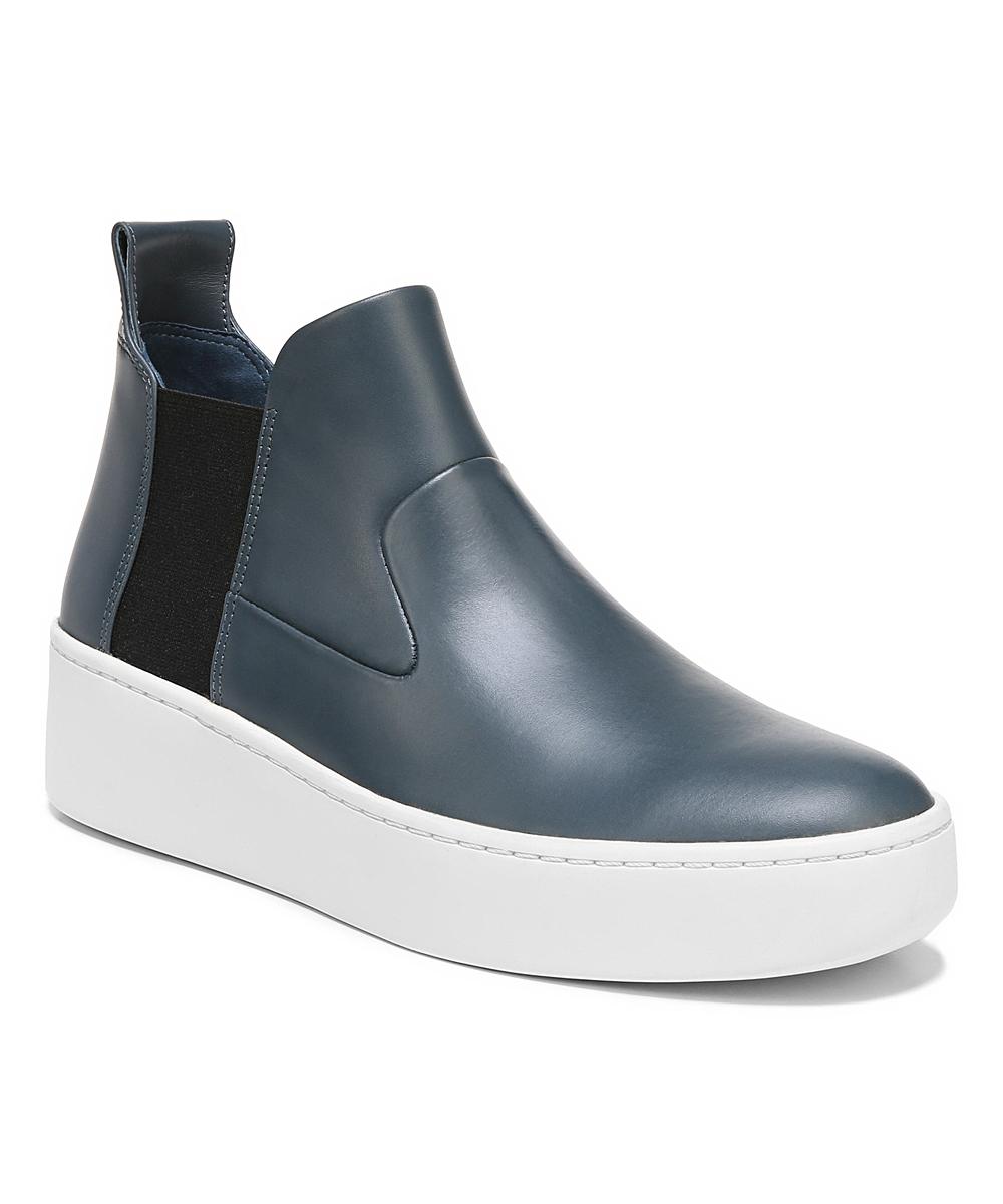 Via Spiga Women's Sneakers AIR - Air Force Blue Eren Leather Hi-Top Sneaker - Women