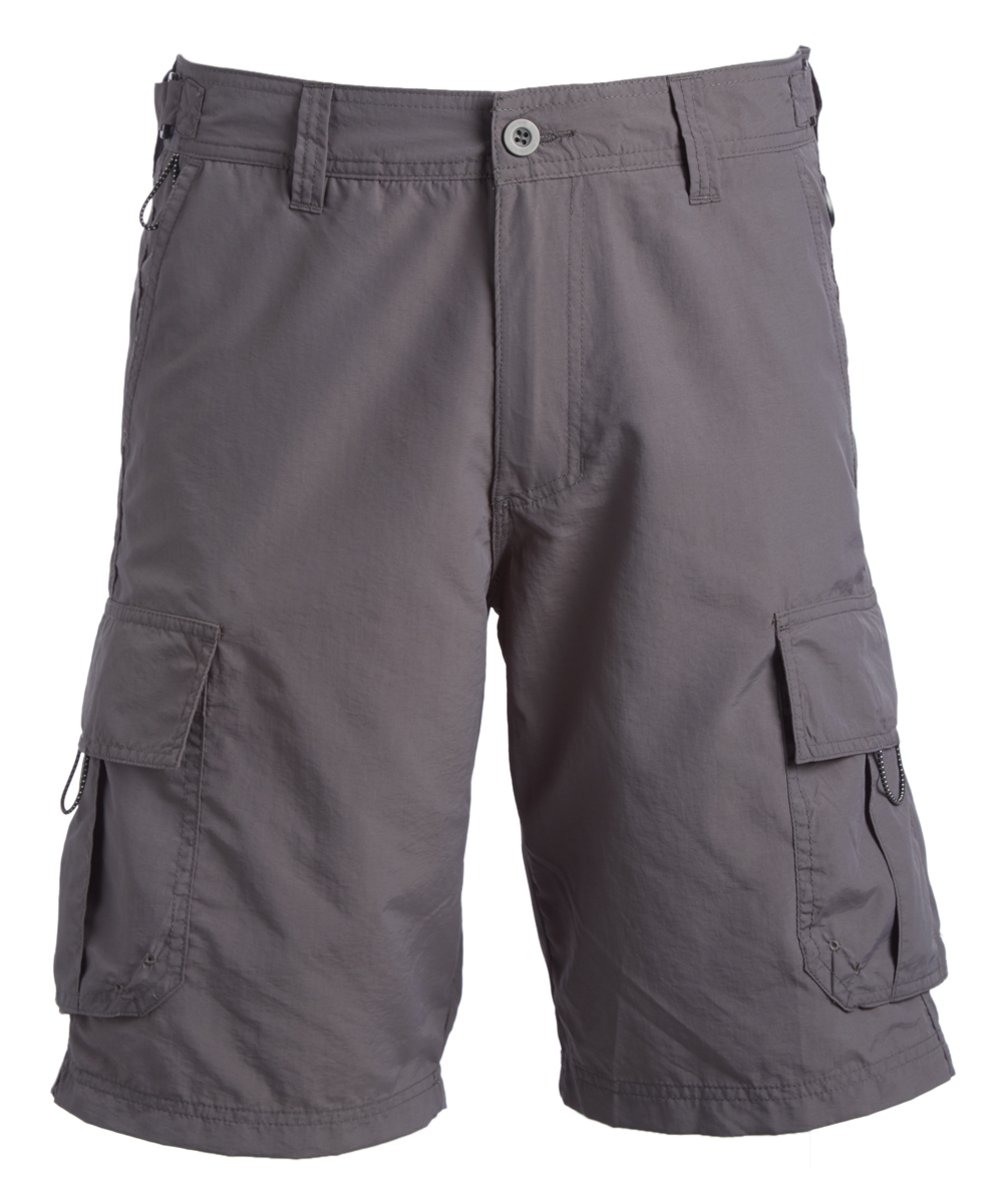 afcd236afb Burnside Gray Cargo Shorts - Men & Big | Zulily