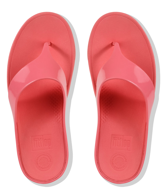 7040bf155 ... Womens Sunshine Coral Sunshine Coral Ringer Welljelly Plain Sandal -  Alternate Image 3 ...