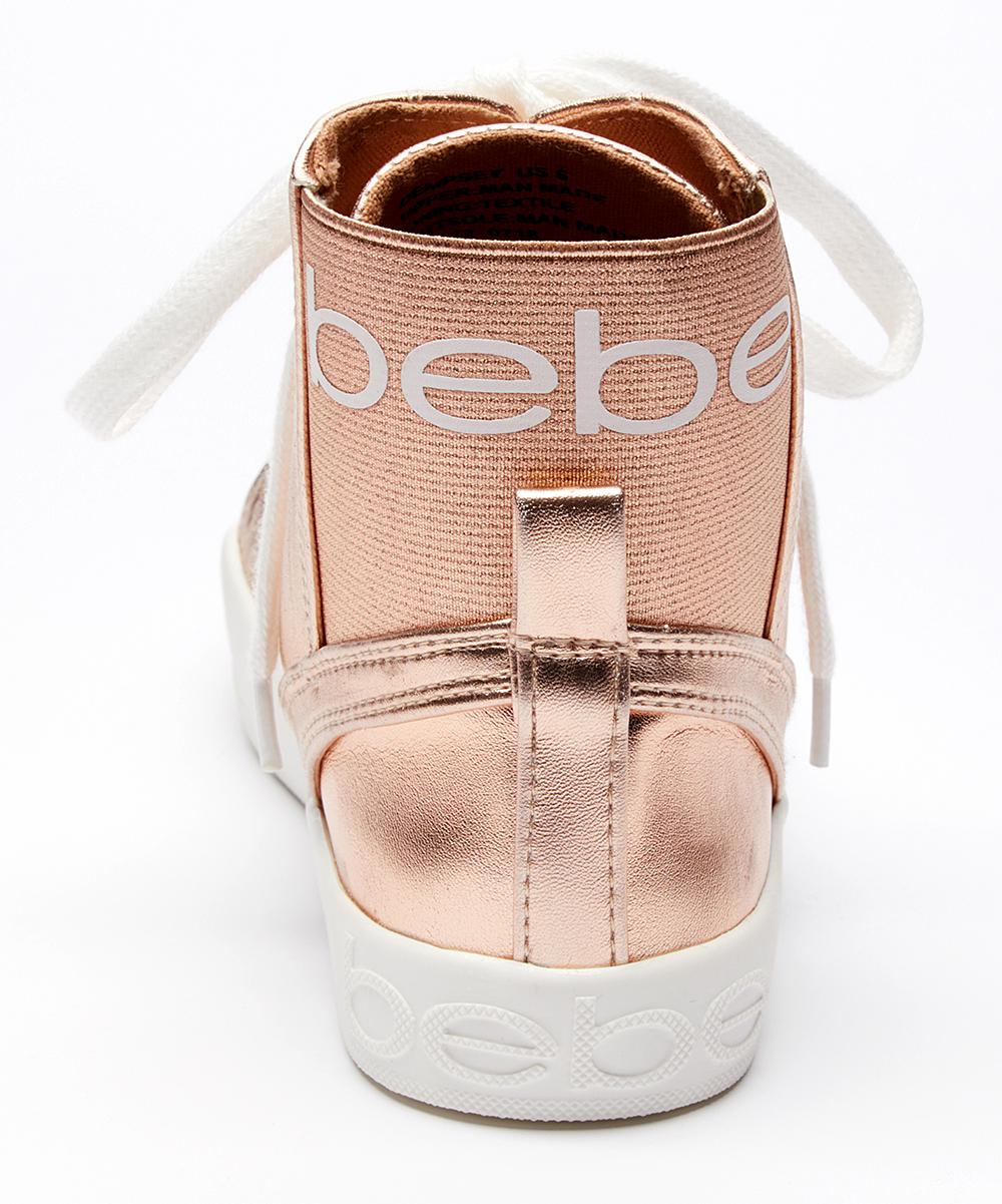 1b4b6551e25 bebe Rose Gold Dempsey Sneaker - Women | Zulily