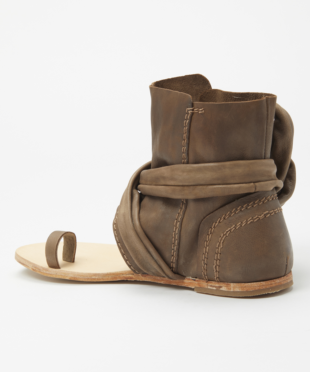 68368369d ... Womens TAUPE Taupe Delaney Leather Boot Sandal - Alternate Image 2 ...