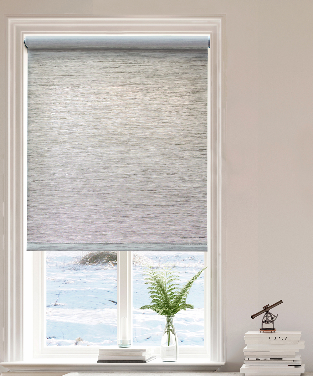 Universal Home Fashions  Window Shades & Blinds Gray - Gray Cordless Roller Shade
