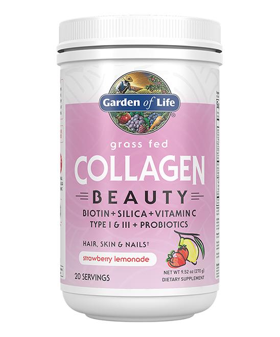 9.52-Oz. Strawberry Lemonade Grass Fed Collagen Beauty Powder