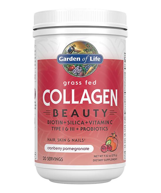 9.52-Oz. Cranberry Pomegranate Grass Fed Collagen Beauty Powder